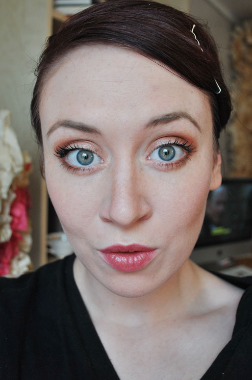 makeup photo a day, mollie booth parks