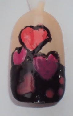 Valentijns nail-art.