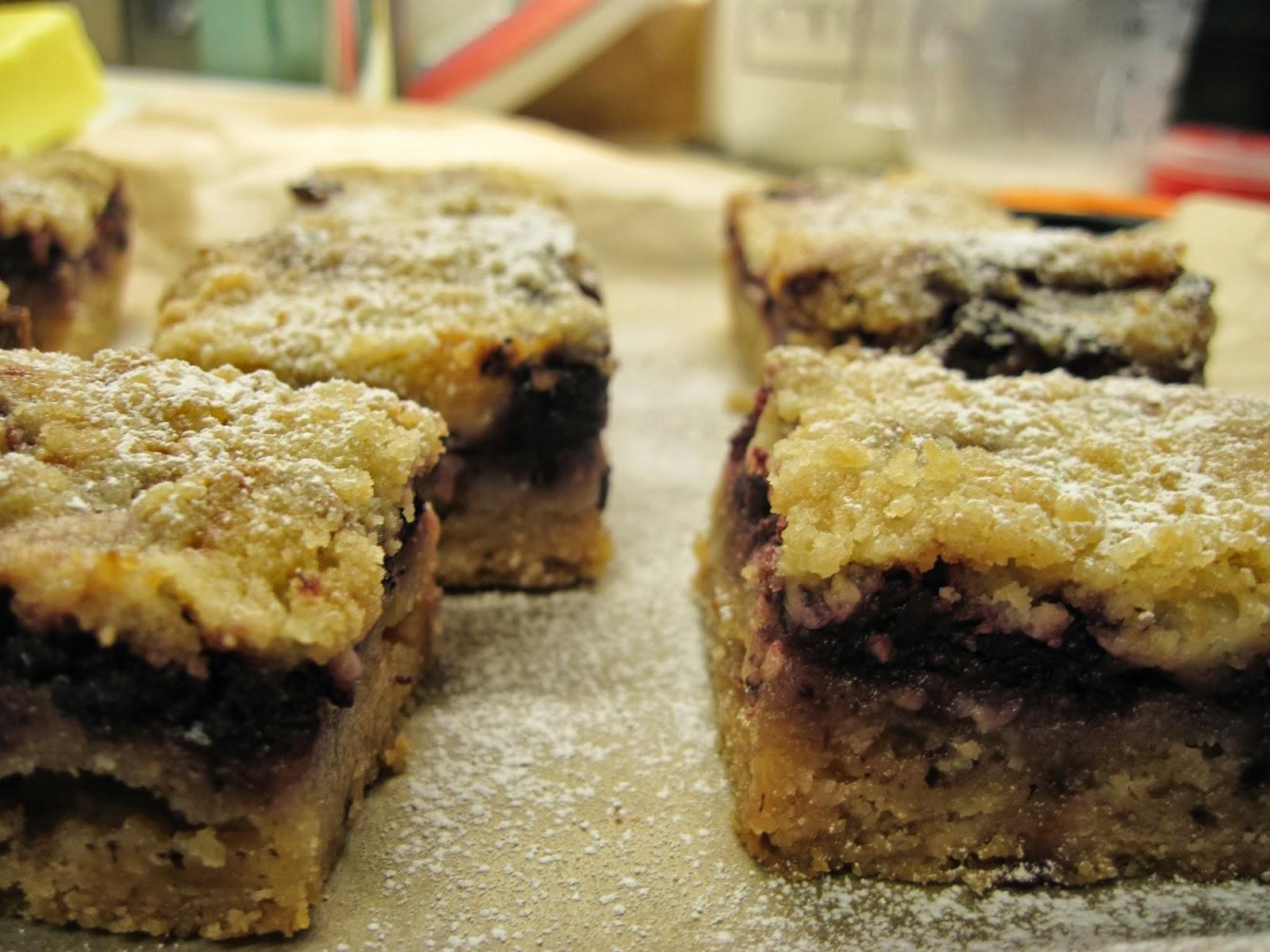 The Sugar Lump: Blackberry Pie Bars