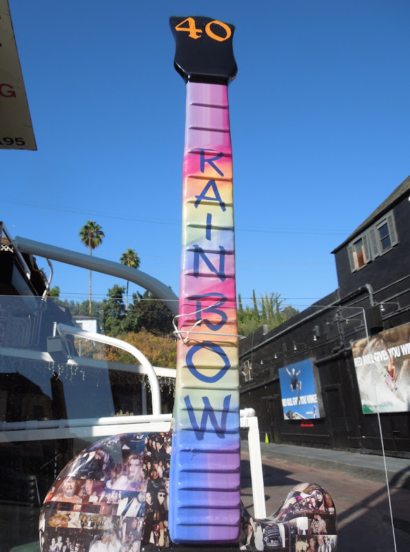 Rainbow Bar Grill tribute guitar
