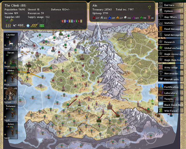 Dominions 4 - Down of Dominion Map