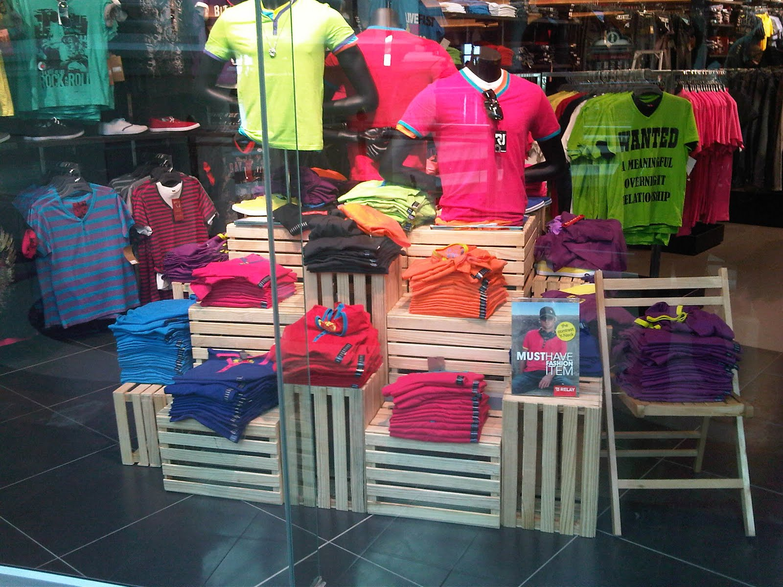 Retail window display ideas specialty store services