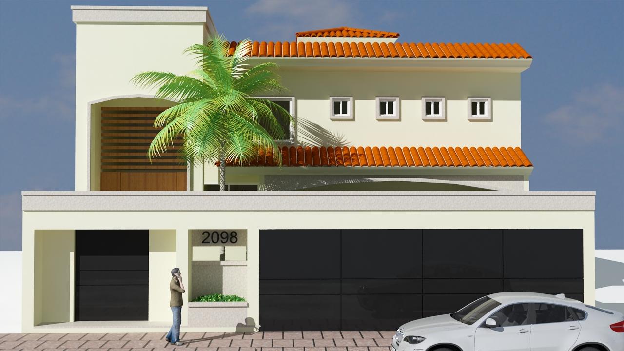 Torre arquitectos for Fachada de casas modernas con porton