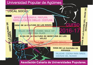 Universidad Popular de Agüimes: Curso 2016-2017