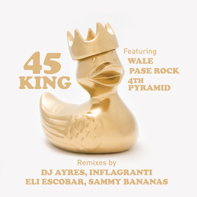 45 King* Featuring Wale, Pase Rock, 4th Pyramid – Scion A/V Remix Project (2008, 320) Unofficial