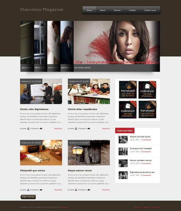 Stavrolino Magazine WordPress Theme