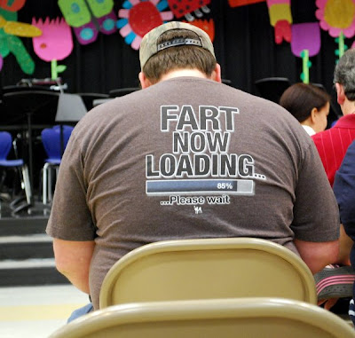Fart now loading 85% T-Shirt