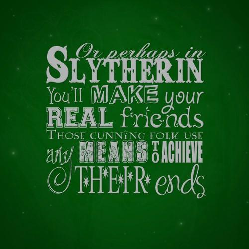 Hogwarts Alumni: Slytherin House