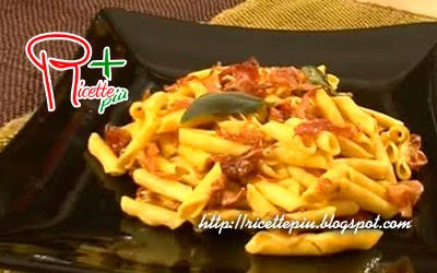 Garganelli Gorgonzola Curry e Speck di Cotto e Mangiato