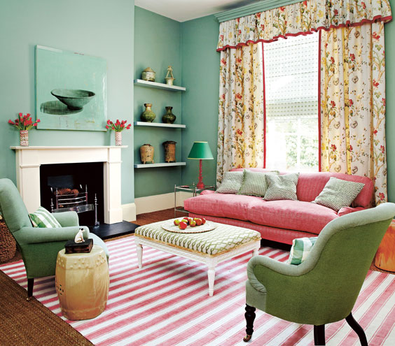 bet mint green works best with bright hued accessories and coral