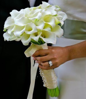 Ανθοδέσμη γάμου ανθέμιο