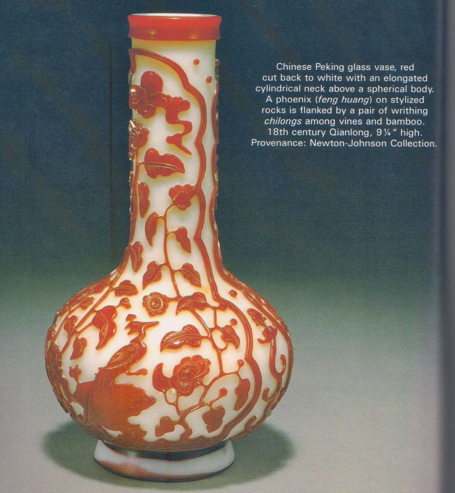 Emperors antique a chinese peking glass vase red cut back to compiled from arts of asia sept oct 2000 reviewsmspy