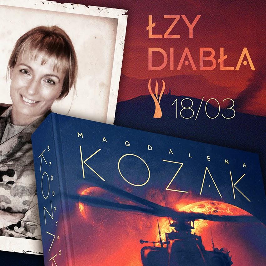 Nowa powieść Magdaleny Kozak już w marcu w księgarniach!