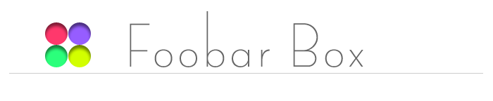 Foobar Box
