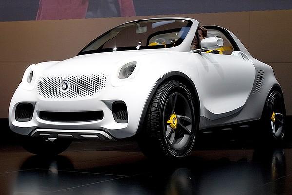 Sport car garage 2012 smart for us concept for Garage concept auto