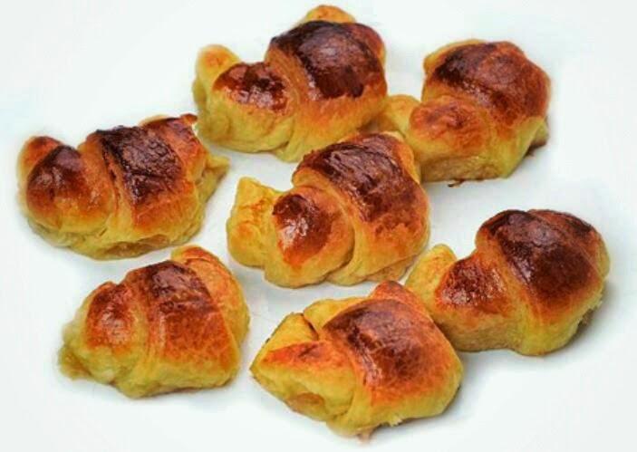 Croissants de Pastelería Saúl