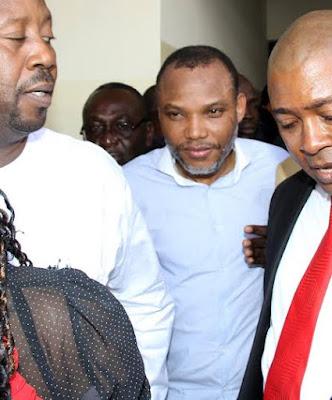 nnamdi kanu arraigned before abuja court