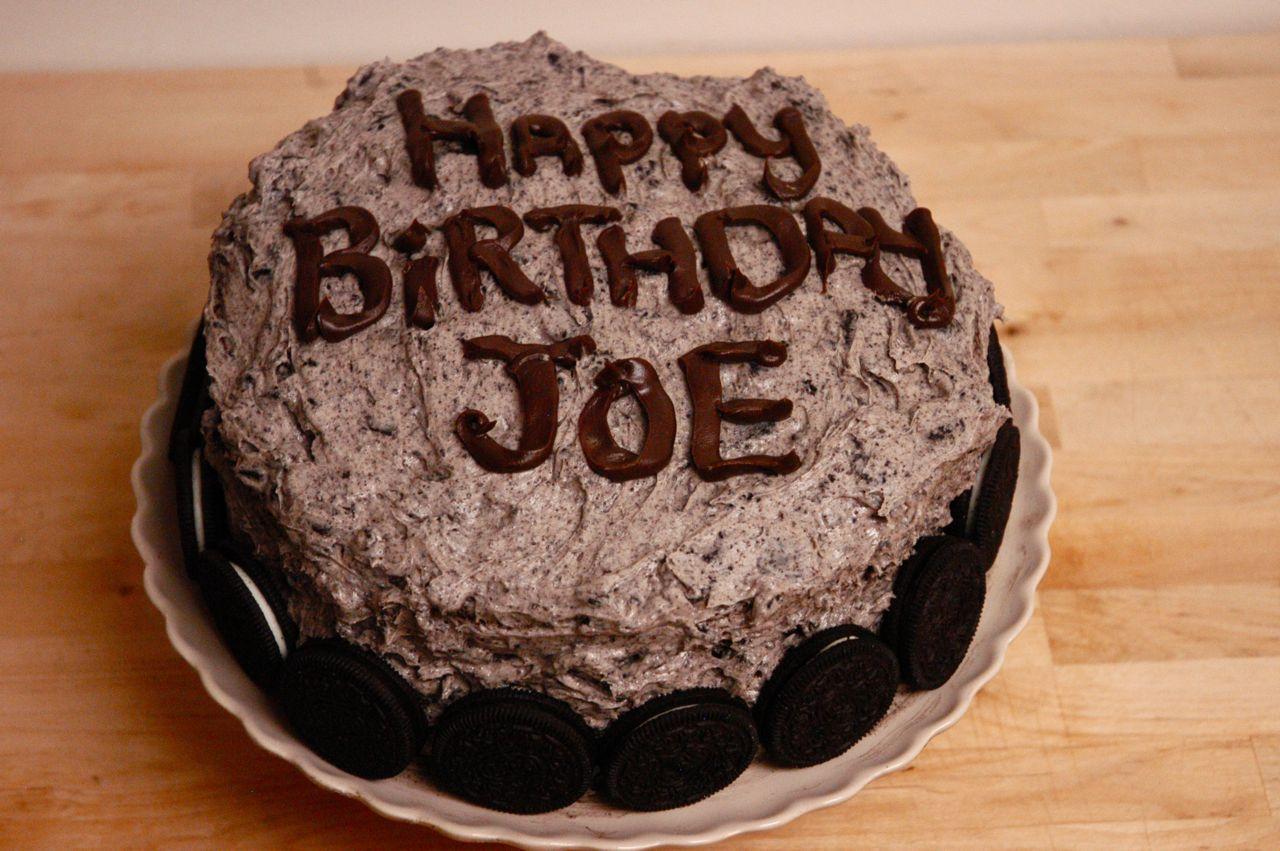 Happy Birthday Joe Cake – Brithday Cake
