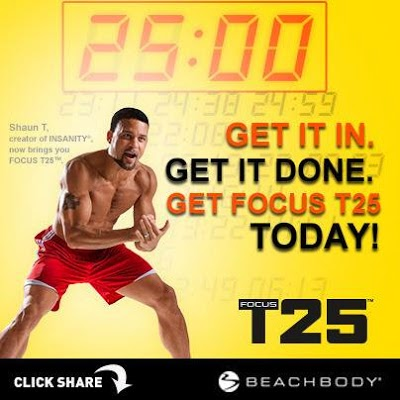 Summer Slim Down Challenge, T25, Bikini Body