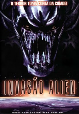 Filme Poster Invasão Alien DVDRip XviD & RMVB Dublado