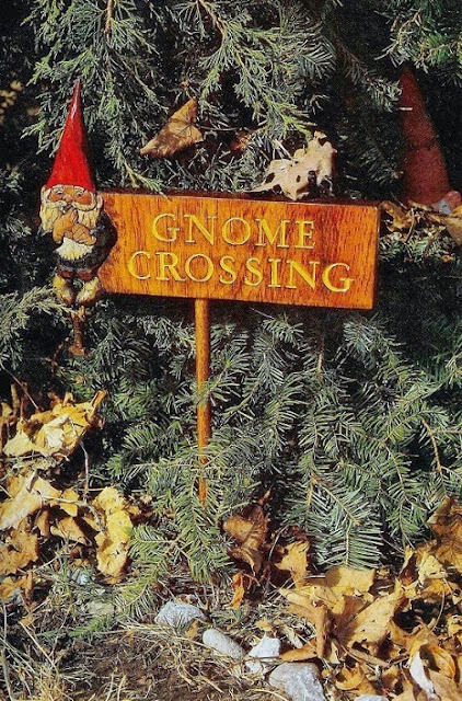 Gnome Crossing Sign via Meet Me in Philadelphia
