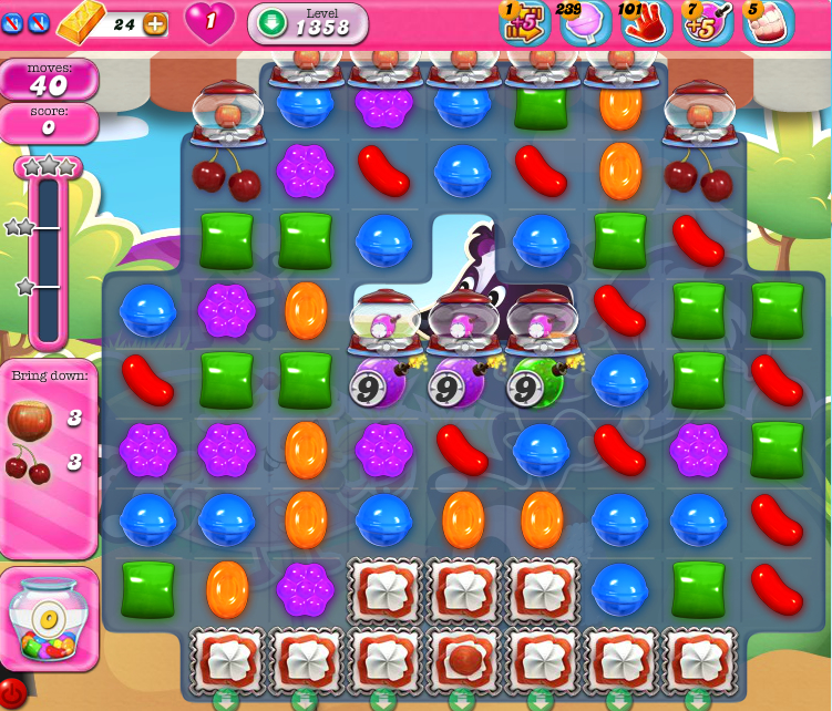Candy Crush Saga 1358