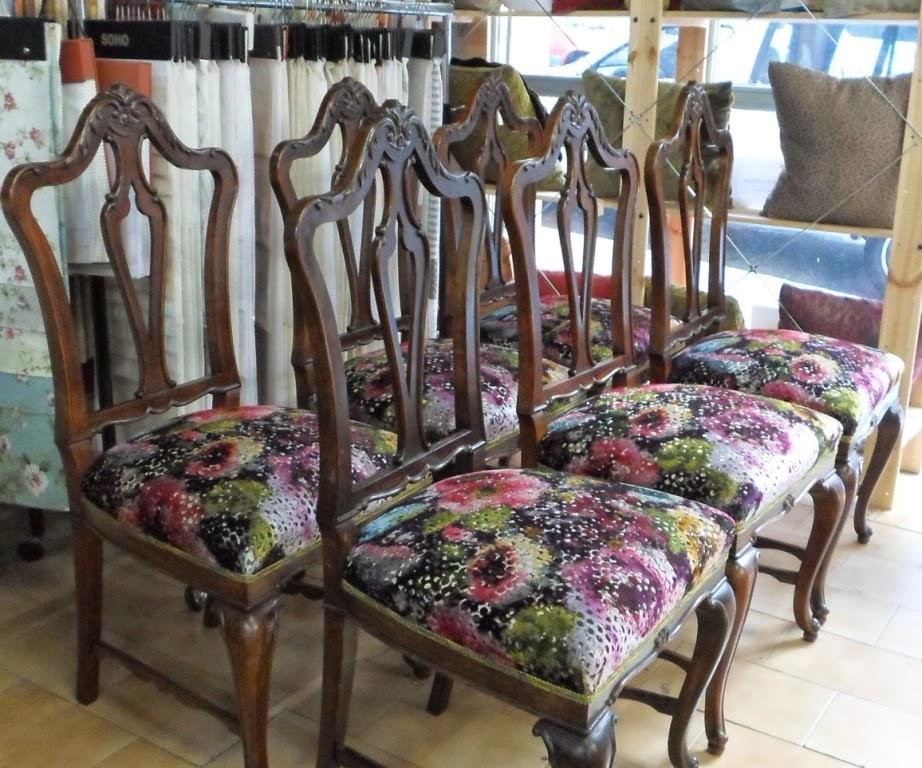resultado final, conjunto de sillas