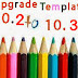 Upgrade Templates from DLE 10.2 to 10.3