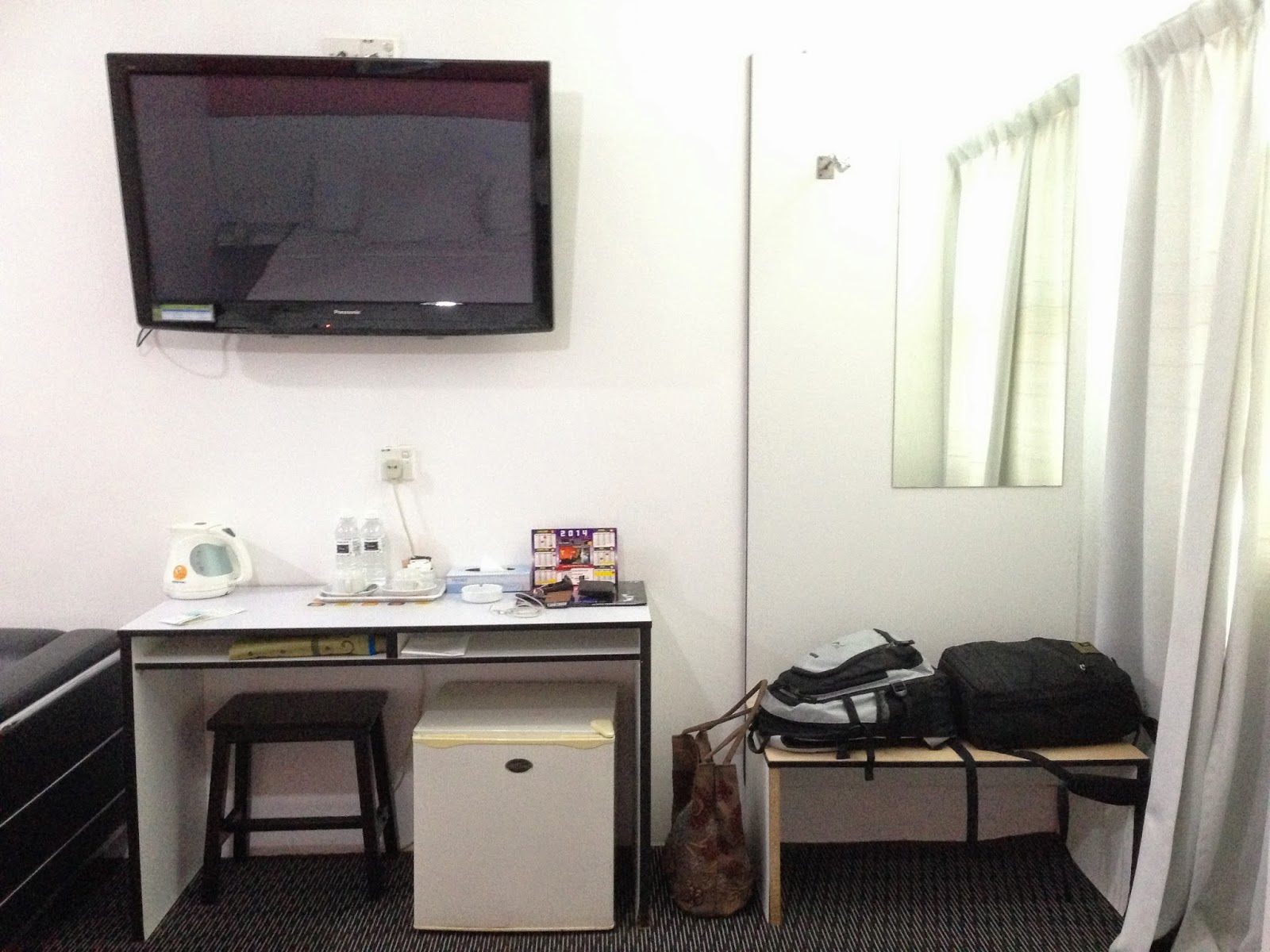 Ridel Hotel's executive room decor