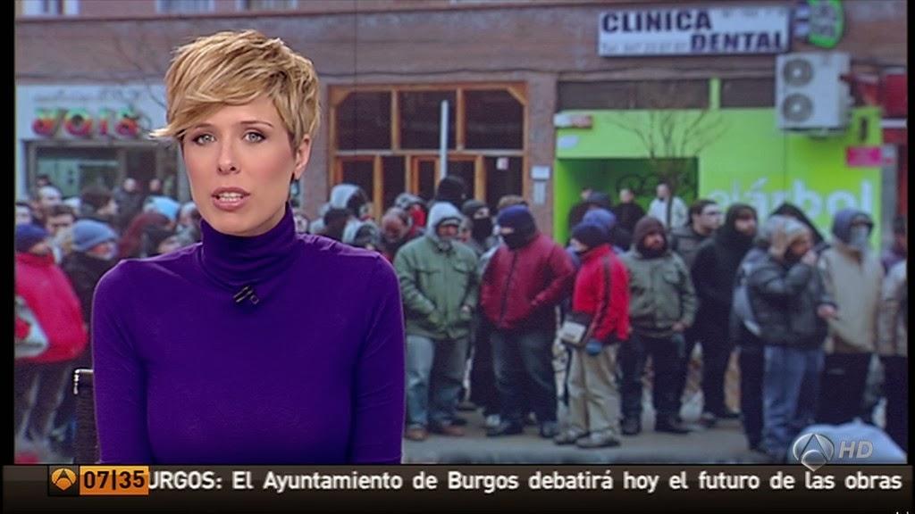 MARIA JOSE SAEZ, LAS NOTICIAS DE LA MAÑANA (17.01.14)
