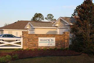 Hampton Lake Subdivision ~ waterfront condos near NAS Pensacola