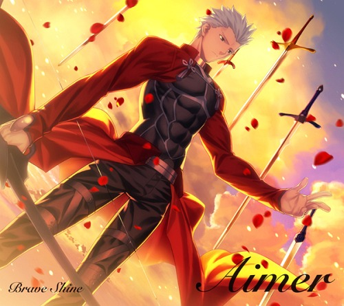 Download Anime Song Brave Shine Fate Stay Night Unlimited Blade Works Season 2 Opening Full Single Album