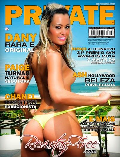 Dany - Revista Private - Fevereiro 2014