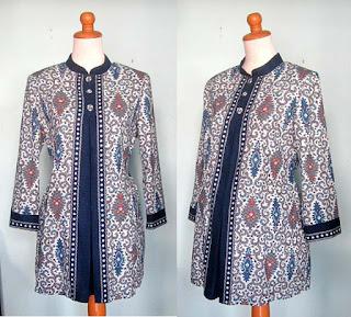 Model Baju Hamil Batik Untuk Kerja