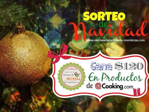 Sorteo de Navidad traido por #ViernesdeRecetasEconómicas #VRE (CERRADO)