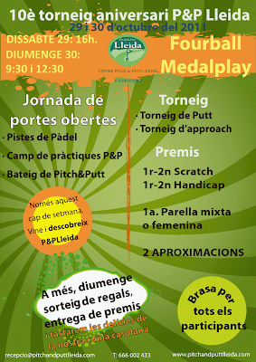 Pitch and Putt Lleida Torneig 10é Aniversari