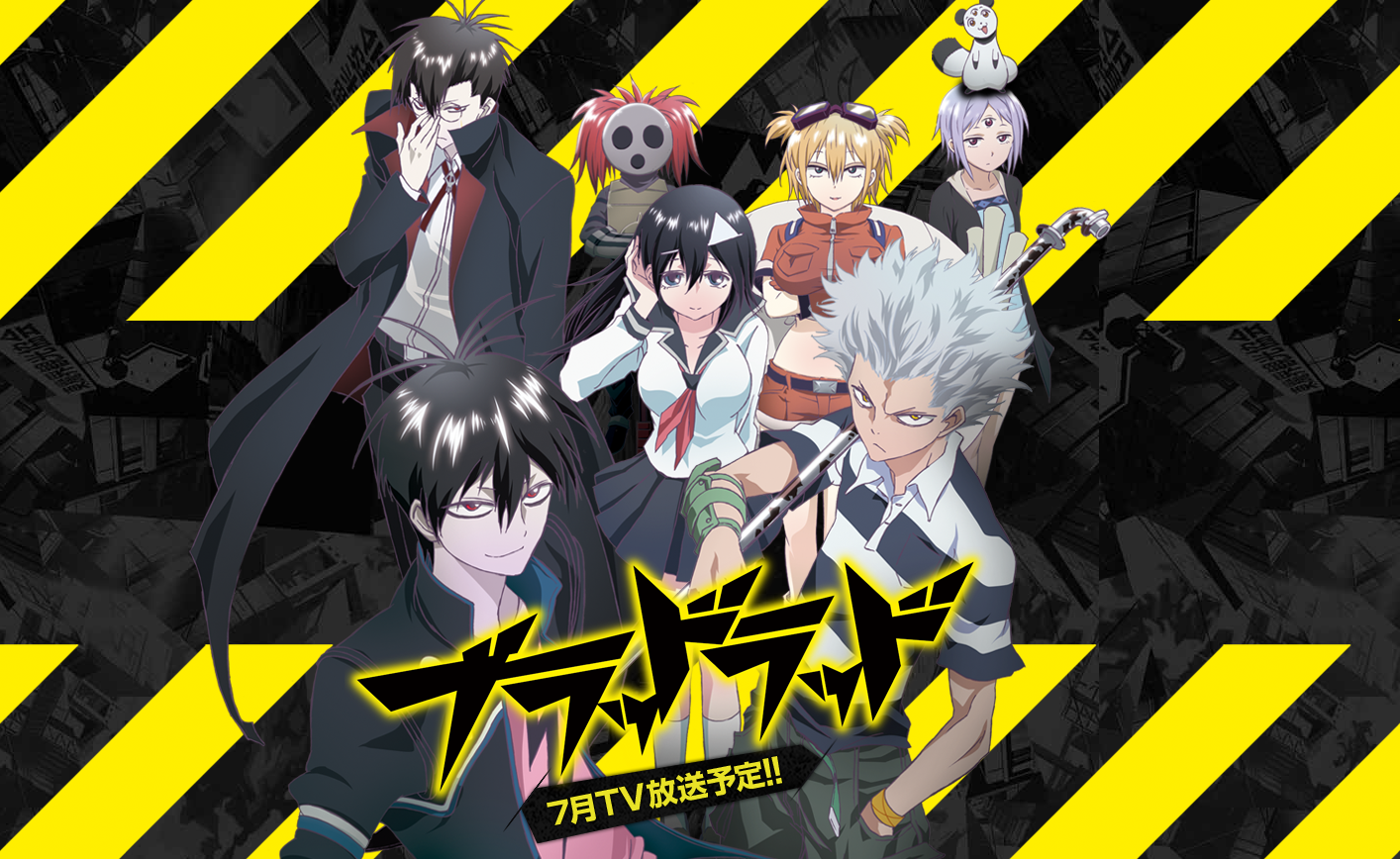 Wallpaper Blood Lad Anime