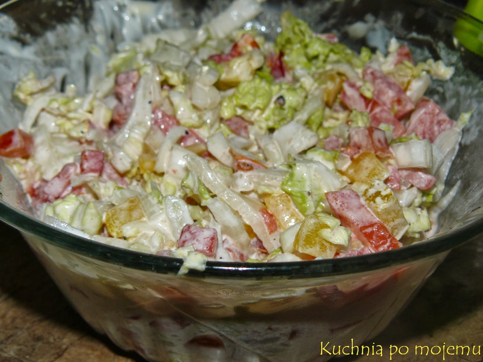пекинская капуста салаты рецепты простые на зиму