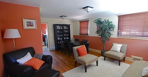 Decoraci n de salas o living room para espacios peque os Salas en l para espacios pequenos
