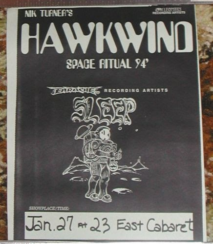Hawkwind Tour Posters