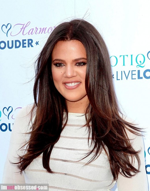 Khloe Kardashian Rocks The Purple Carpet » Gossip | Khloe Kardashian