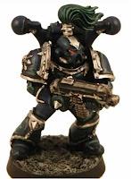 Marines Espaciales del Caos de la Legion Alfa
