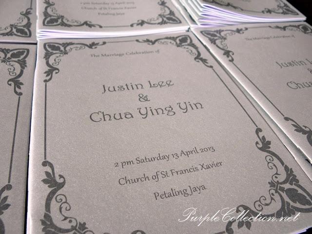 Church Booklet, Mass Booklet, church of st francis xavier Petaling Jaya, St Francis Xavier PJ