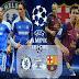 اهداف مباراة برشلونة وتشيلسى 2-2