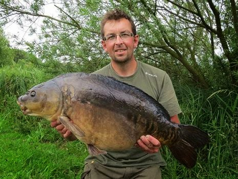 Big carp fishing derbyshire