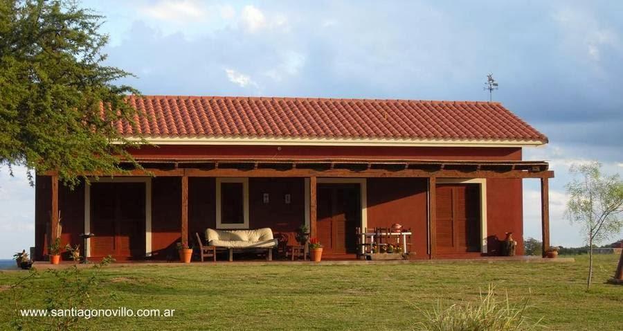 Arquitectura de casas nuevas casas de campo en argentina - Colores fachadas casas de campo ...