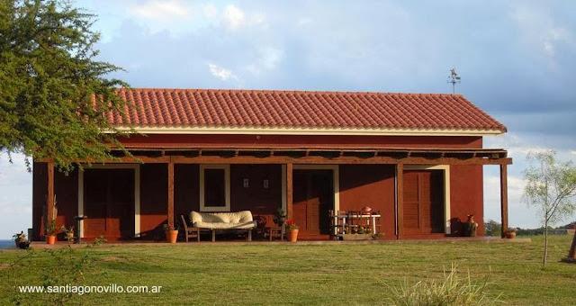 Casa de campo moderna en Argentina
