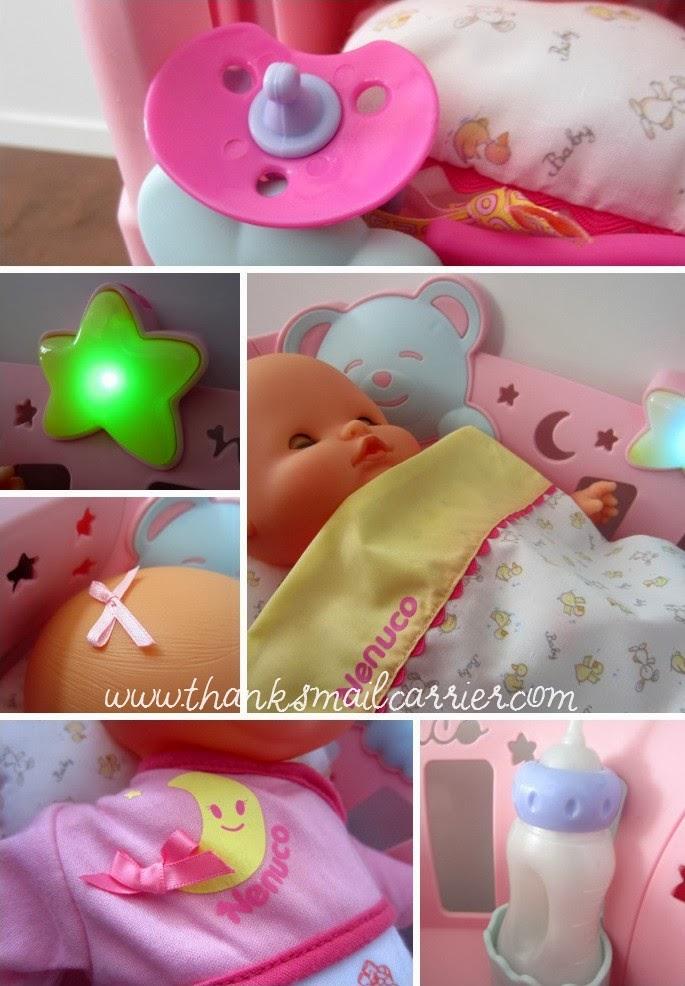Nenuco Sleep With Me doll and cradle