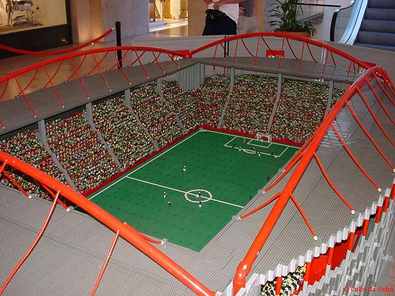 347. Football stadiums made from Lego | 500 REASONS TO LOVE FOOTBALL