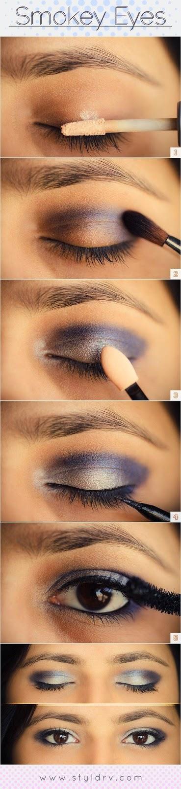 Dashingamrit Easy And Quick Smokey Eye Makeup Tutorials